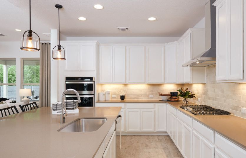 Kitchen featured in the Lexington By Pulte Homes in Austin, TX