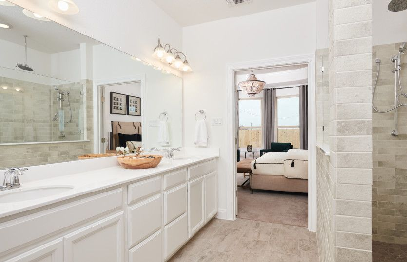 Bathroom featured in the Lexington By Pulte Homes in Austin, TX