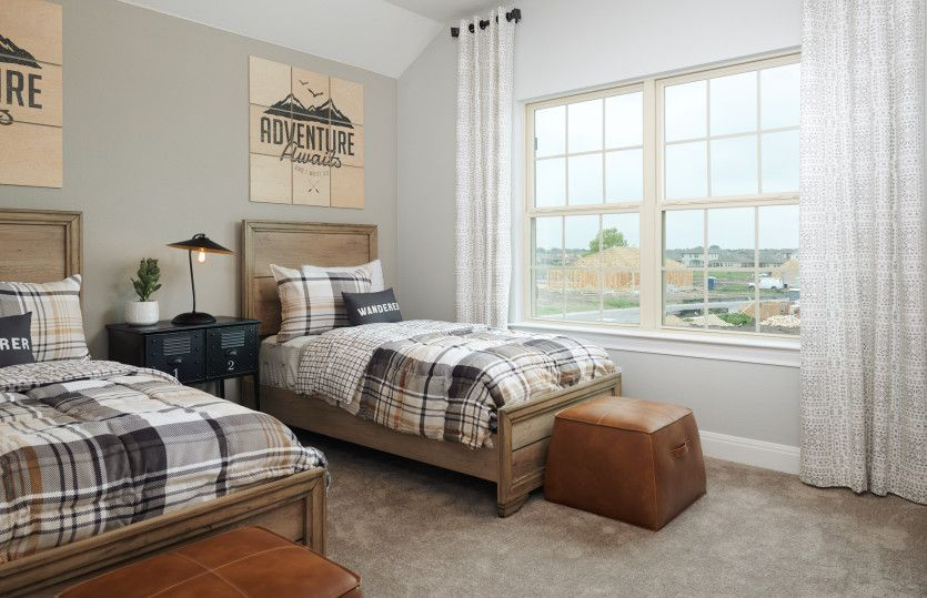 Bedroom featured in the Lexington By Pulte Homes in Austin, TX