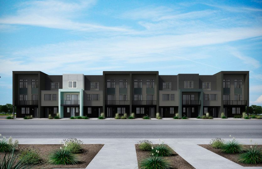 Exterior featured in the Plan 1 By Pulte Homes in San Jose, CA