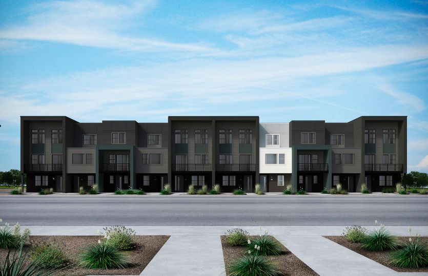 Exterior featured in the Plan 2 By Pulte Homes in San Jose, CA