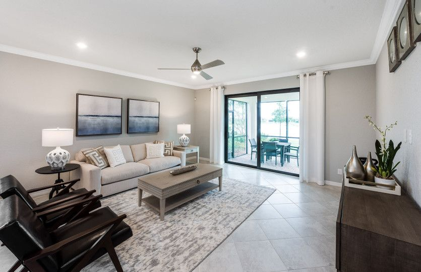 Living Area featured in the Canopy By Pulte Homes in Indian River County, FL