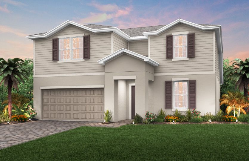 Exterior featured in the Citrus Grove By Pulte Homes in Martin-St. Lucie-Okeechobee Counties, FL
