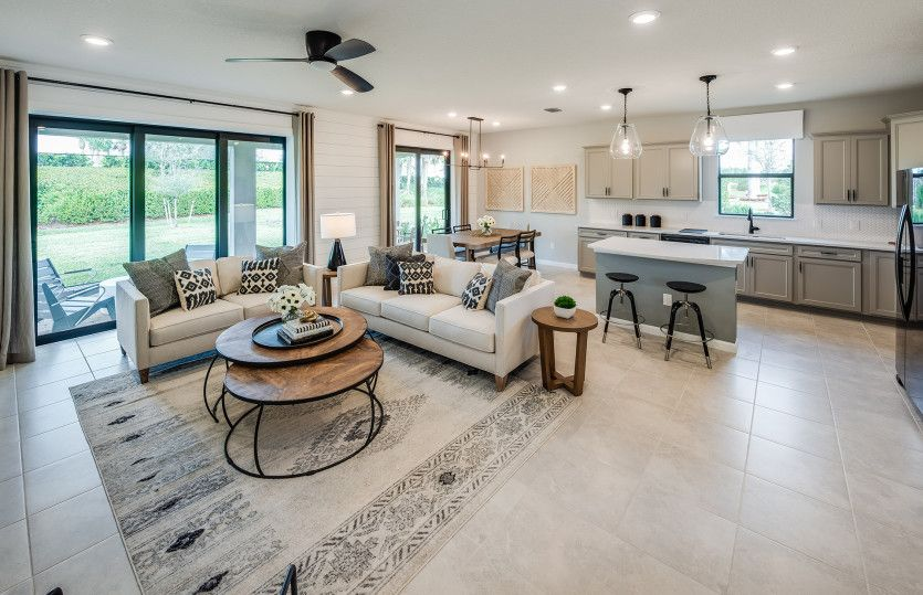 Living Area featured in the Marina By Pulte Homes in Indian River County, FL
