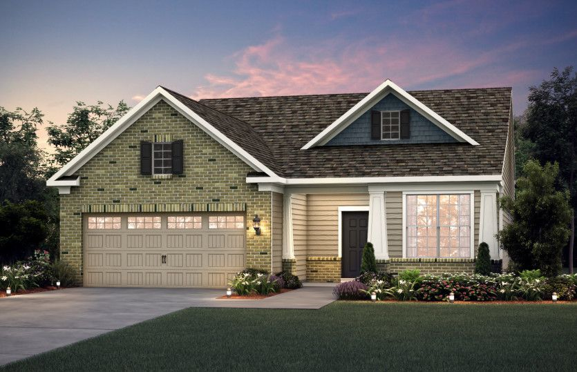 Exterior featured in the Martin Ray By Pulte Homes in Louisville, KY