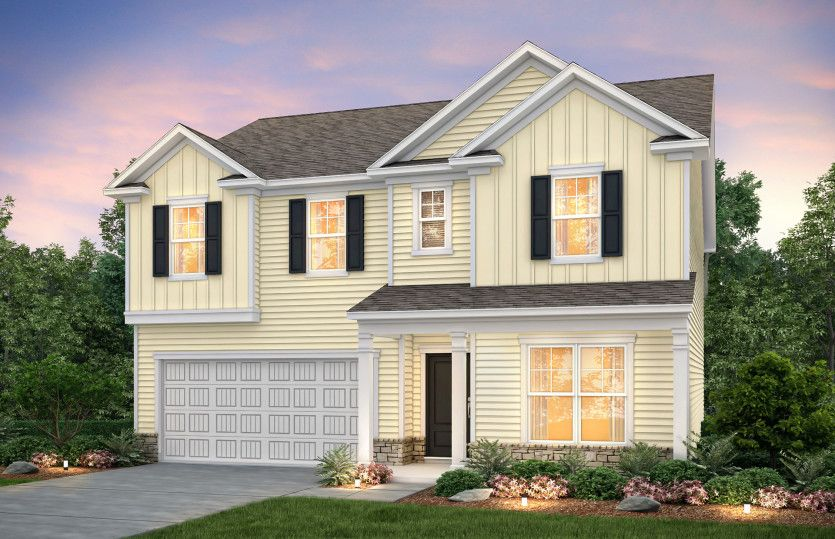 Exterior featured in the Hampton By Pulte Homes in Myrtle Beach, SC