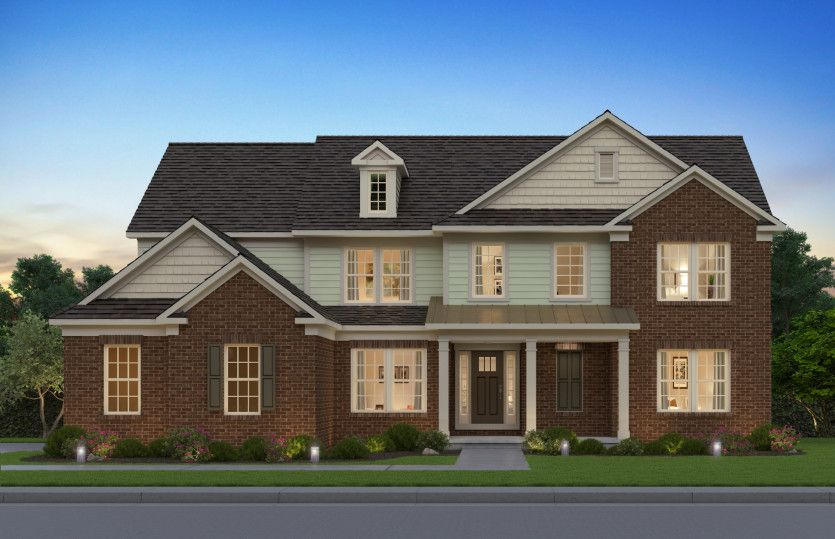 Exterior featured in the Skyview By Pulte Homes in Philadelphia, PA