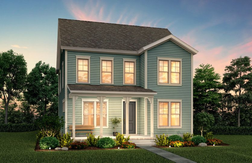 Exterior featured in the Hawthorn By Pulte Homes in Charleston, SC