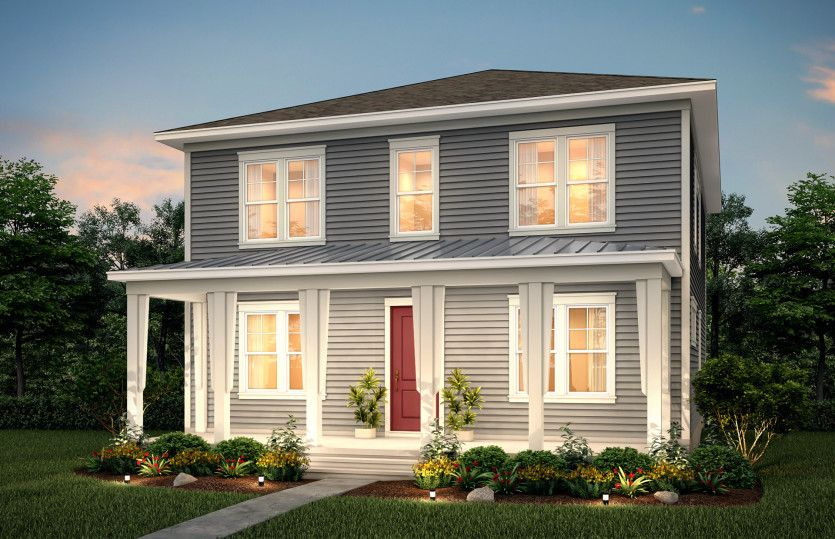 Exterior featured in the Primrose By Pulte Homes in Charleston, SC