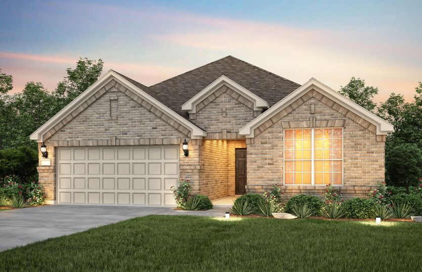 Exterior featured in the McKinney By Pulte Homes in San Antonio, TX