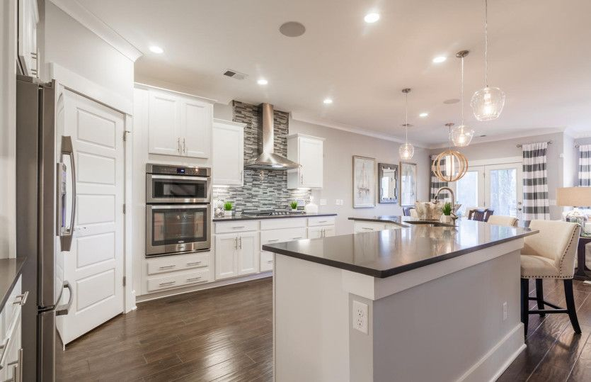 Kitchen featured in the Stonebrook By Pulte Homes in Wilmington, NC