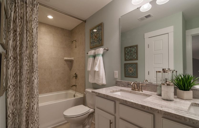 Bathroom featured in the Stonebrook By Pulte Homes in Wilmington, NC