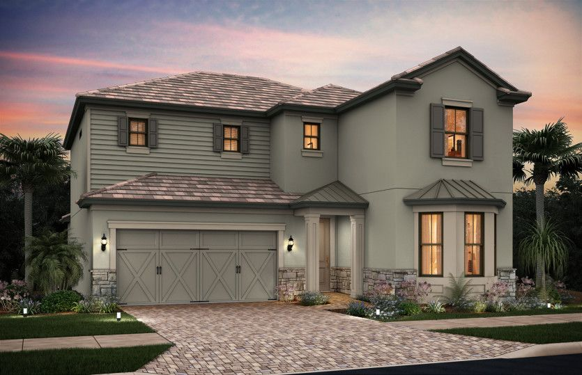Exterior featured in the Eastfield By Pulte Homes in Naples, FL
