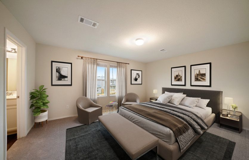 Bedroom featured in the Camelia By Pulte Homes in Austin, TX