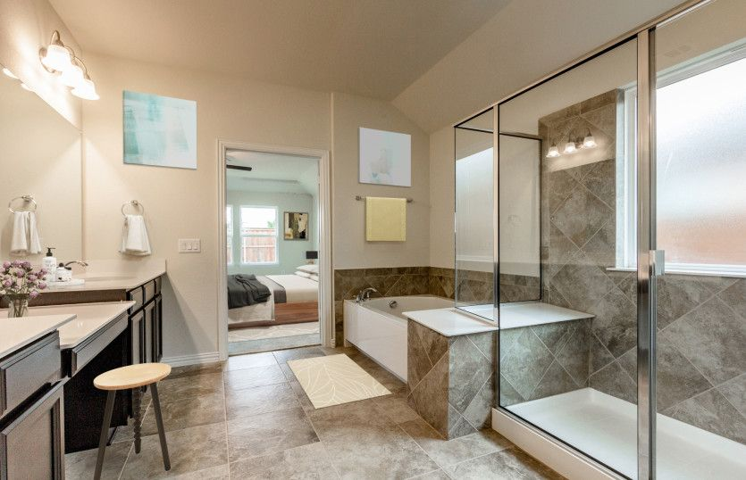 Bathroom featured in the Northlake By Pulte Homes in San Antonio, TX