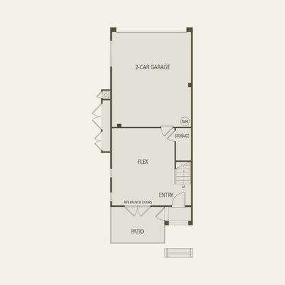 Plan 4:First Floor 3 br / 2.5 ba