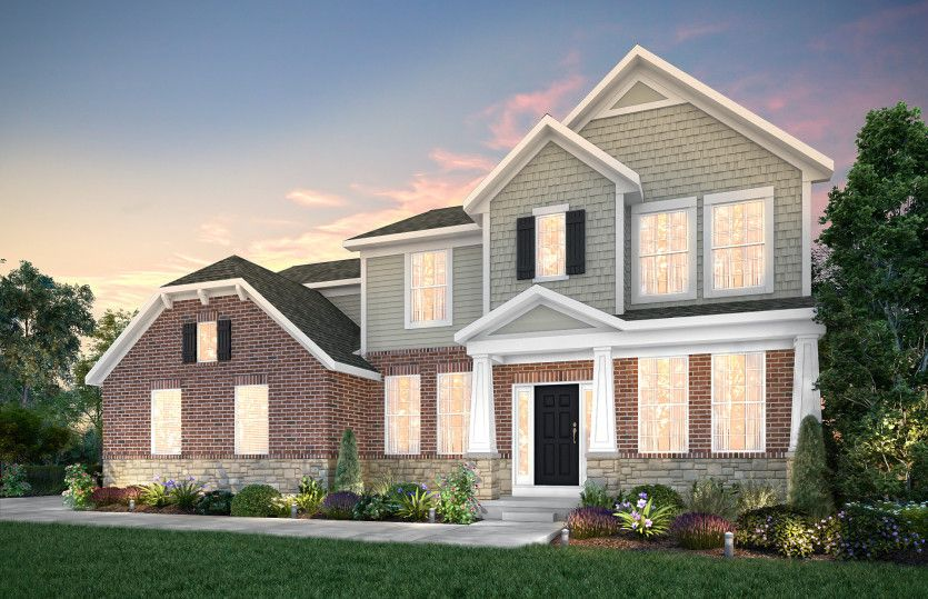 Exterior featured in the Lauren By Pulte Homes in Detroit, MI