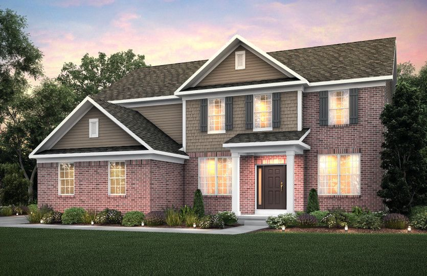 Exterior featured in the Woodside By Pulte Homes in Detroit, MI