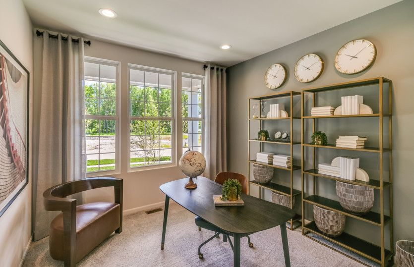 Living Area featured in the Newberry By Pulte Homes in Detroit, MI