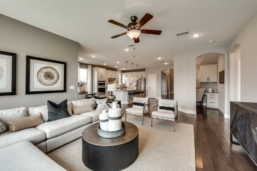 Living Area featured in the Mooreville By Pulte Homes in Fort Worth, TX