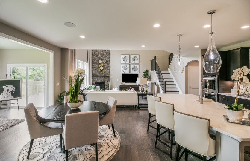 Living Area featured in the Deer Valley By Pulte Homes in Detroit, MI