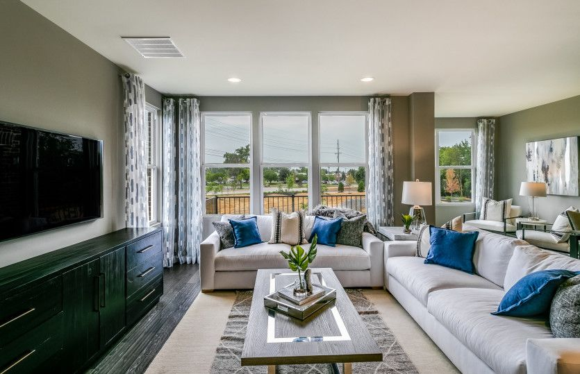 Living Area featured in the Denali By Pulte Homes in Detroit, MI