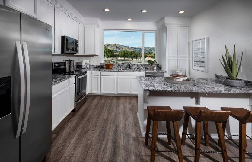 Kitchen featured in the Retreat Plan 1 By Pulte Homes in San Jose, CA