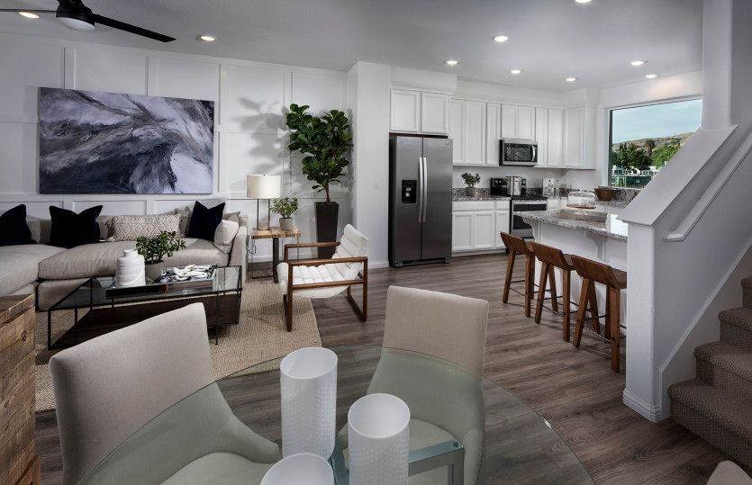 Living Area featured in the Retreat Plan 1 By Pulte Homes in San Jose, CA