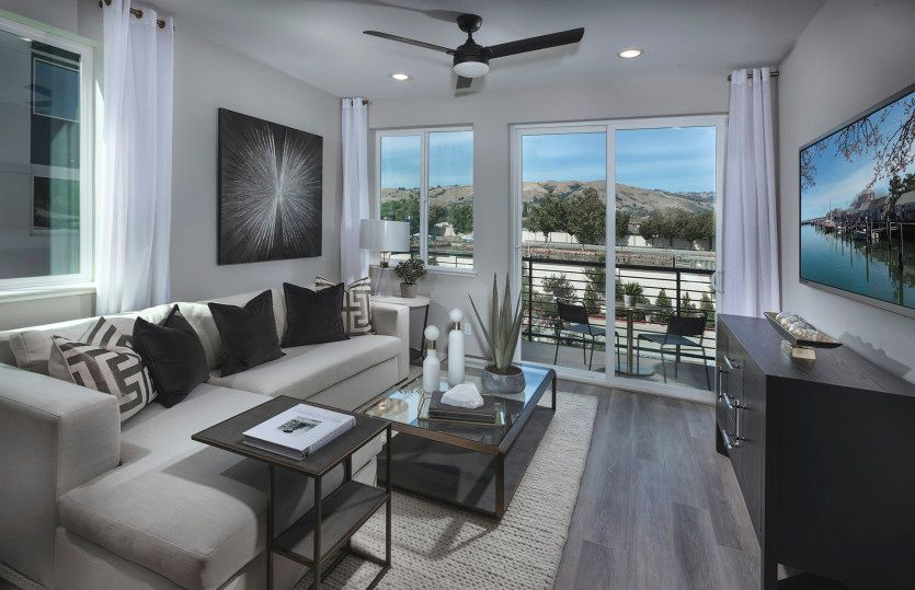Living Area featured in the Retreat Plan 2 By Pulte Homes in San Jose, CA