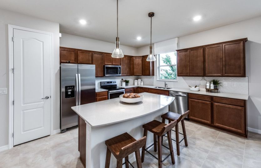 Kitchen featured in the Oasis By Pulte Homes in Tampa-St. Petersburg, FL