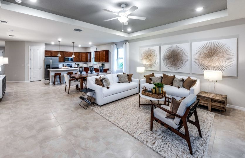 Living Area featured in the Oasis By Pulte Homes in Tampa-St. Petersburg, FL