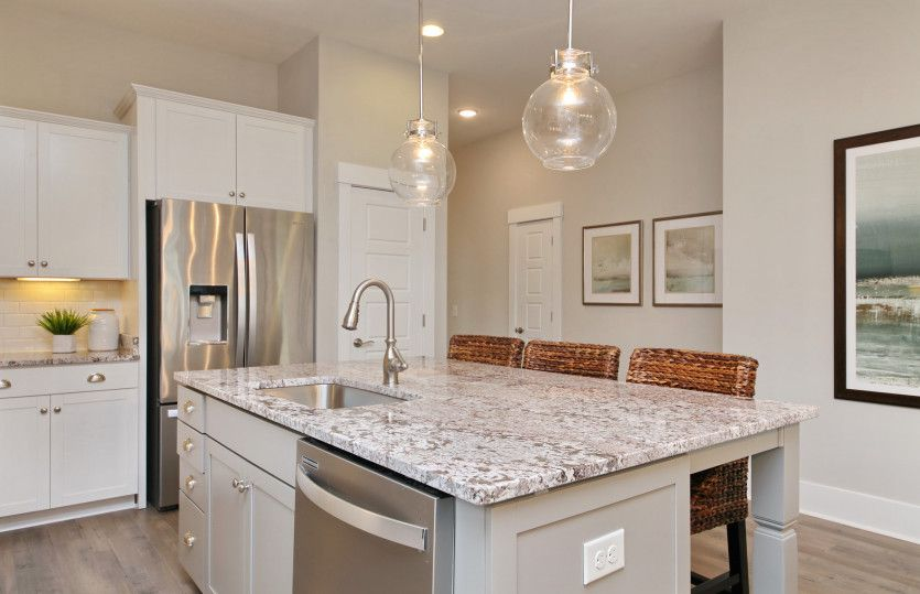 Kitchen featured in the Sweetgrass By Pulte Homes in Wilmington, NC