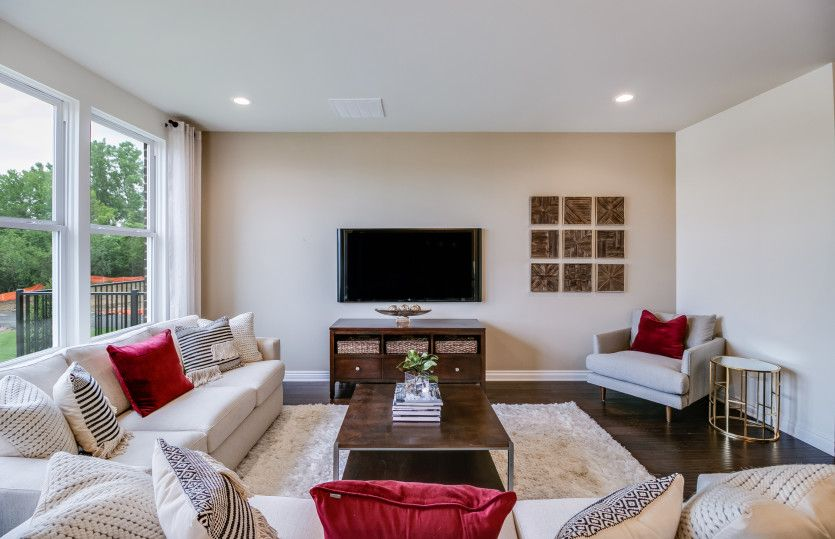 Living Area featured in the Rainier with Basement By Pulte Homes in Detroit, MI