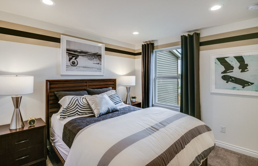 Bedroom featured in the Rainier with Basement By Pulte Homes in Detroit, MI