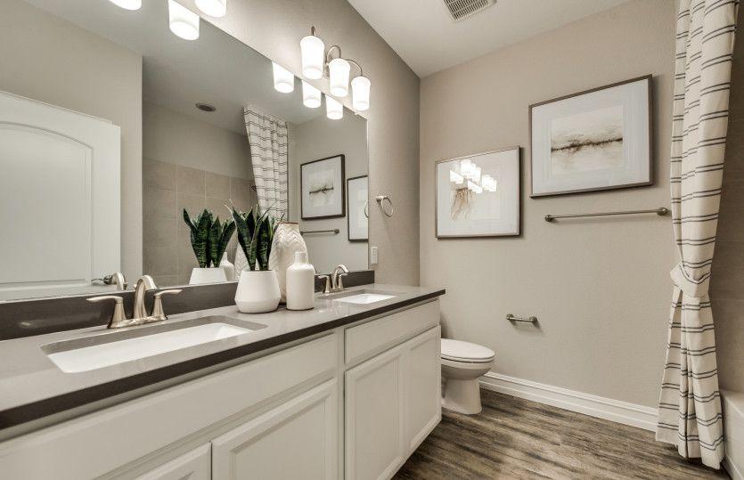 Bathroom featured in the Arlington By Pulte Homes in San Antonio, TX