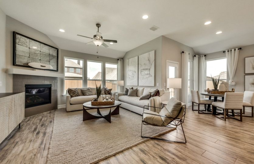 Living Area featured in the Arlington - 3-Car Garage By Pulte Homes in San Antonio, TX