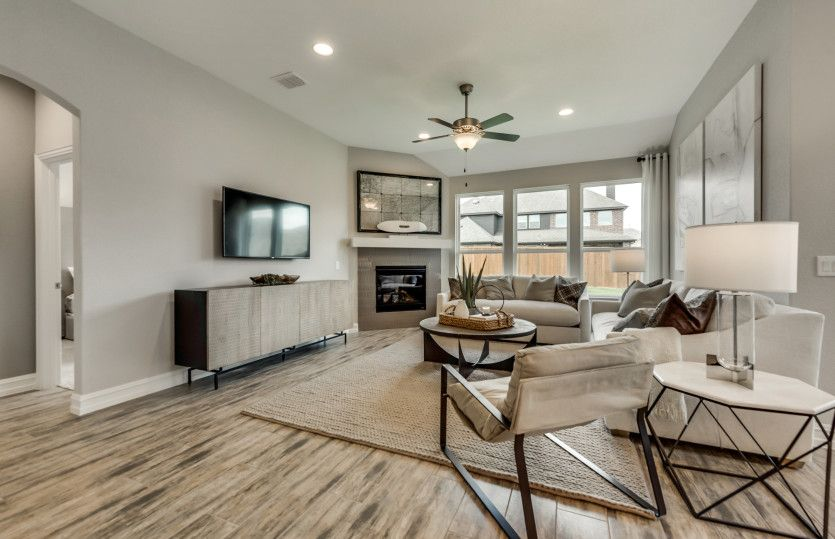 Living Area featured in the Arlington By Pulte Homes in San Antonio, TX