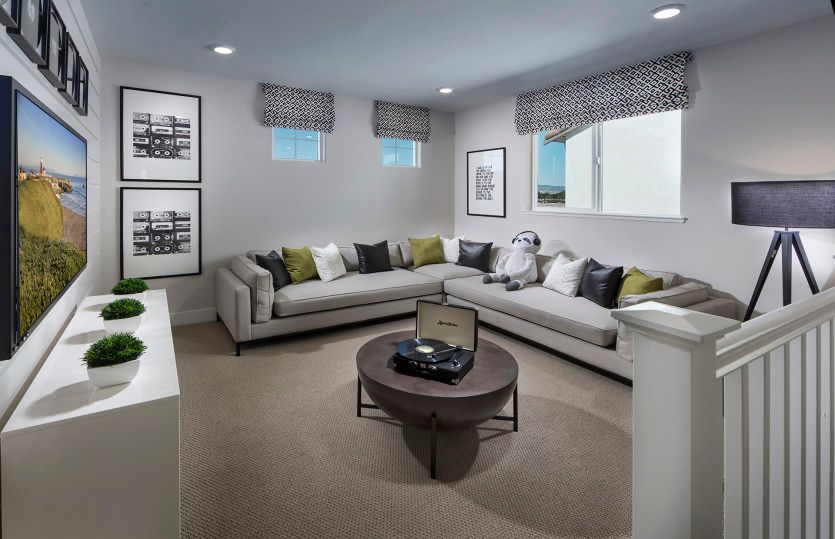 Living Area featured in the Lakeview By Pulte Homes in Oakland-Alameda, CA