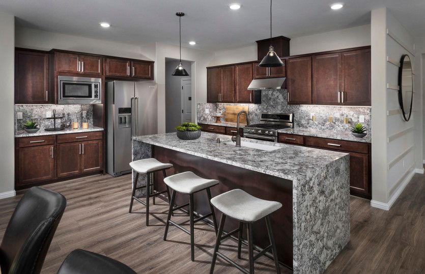 Kitchen featured in the Quincy By Pulte Homes in Stockton-Lodi, CA
