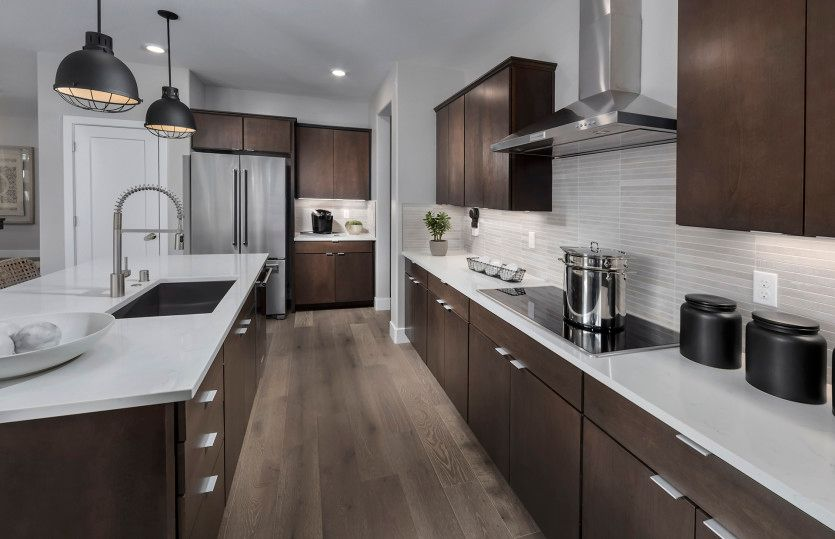 Kitchen featured in the Roslyn By Pulte Homes in Stockton-Lodi, CA