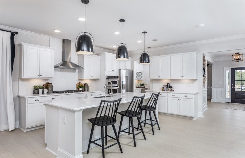 Kitchen featured in the Waterstone By Pulte Homes in Charlotte, NC