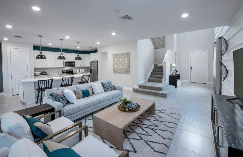 Living Area featured in the Driftwood By Pulte Homes in Fort Myers, FL