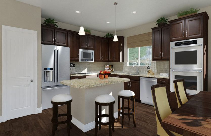 Kitchen featured in the Alexander By Pulte Homes in Houston, TX