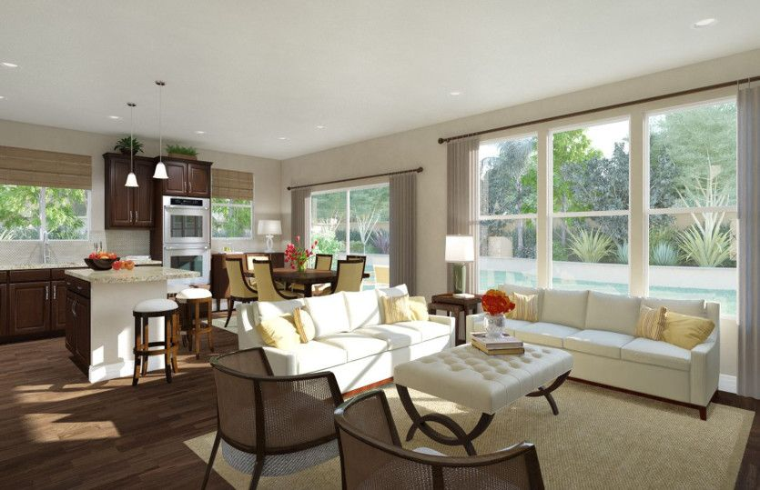 Living Area featured in the Alexander By Pulte Homes in Houston, TX