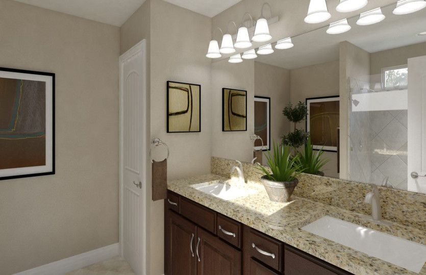 Bathroom featured in the Alexander By Pulte Homes in Houston, TX