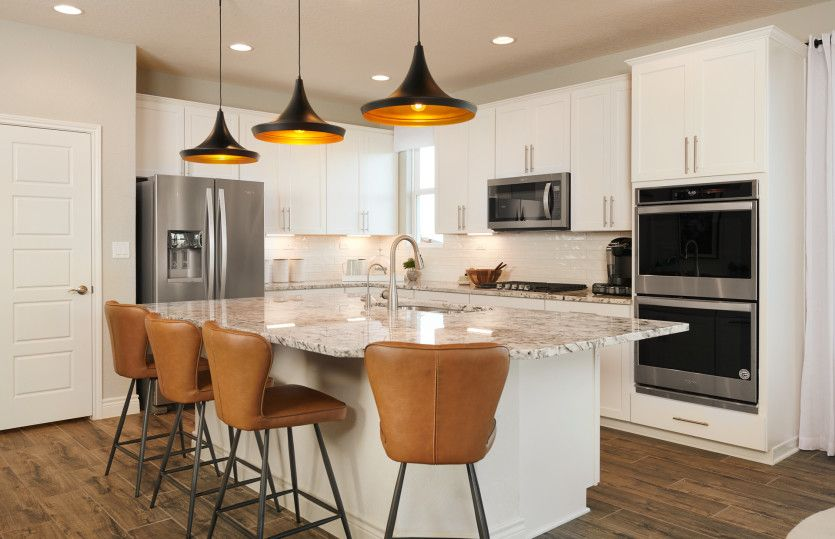 Kitchen featured in the Mooreville By Pulte Homes in San Antonio, TX