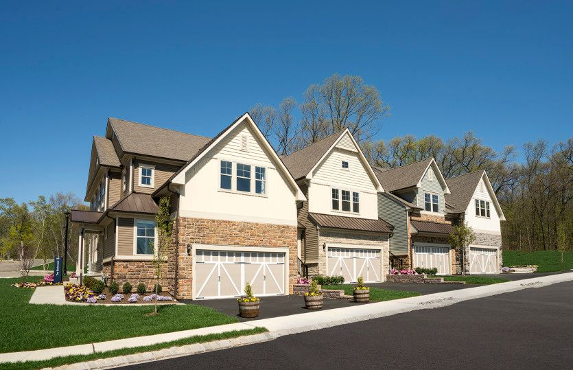 Exterior featured in the Birchwood By Pulte Homes in Morris County, NJ