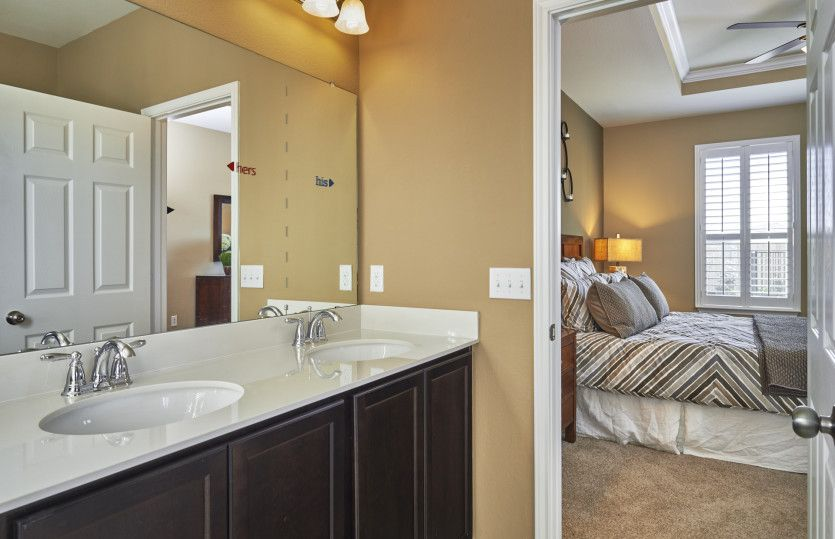 Bathroom featured in the Rayburn By Pulte Homes in Fort Worth, TX