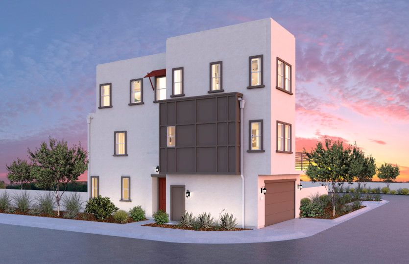 Exterior featured in the Residence 1 By Pulte Homes in Los Angeles, CA