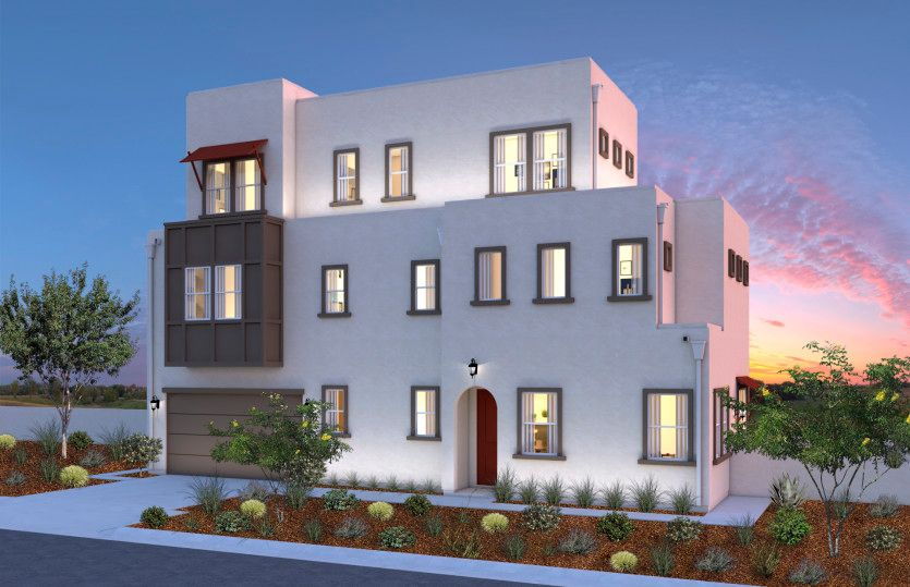 Exterior featured in the Residence 4 By Pulte Homes in Los Angeles, CA